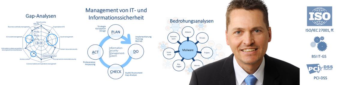 Dienstleistungen IT-Sicherheit und Informationssicherheit